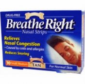 Breathe Right Nasal Strips (30 Pack)